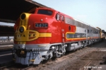 Former Santa Fe F7A #347C at LAUPT 1989